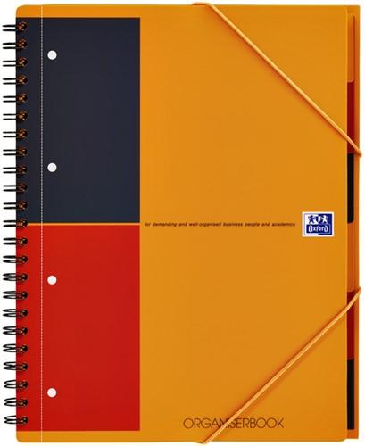 Spiraalblok Oxford International Organiserbook A4+ lijn