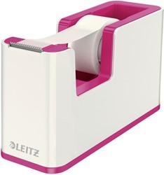 Plakbandhouder Leitz WOW wit/roze