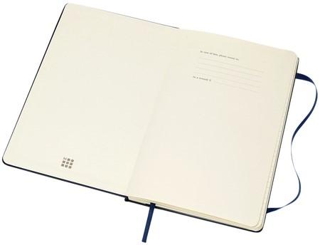 Agenda 2019-2020 Moleskine 18 maanden 7 dag/1 pag XL hard blauw-2