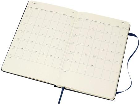 Agenda 2019-2020 Moleskine 18 maanden 7 dag/1 pag XL hard blauw-3