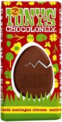 Chocolade Tony's Chocolonely paasreep melk met meringue 180gr display à 60 stuks