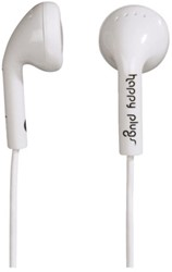 HEADSET HAMA IN EAR HAPPY PLUGS + MIC WIT 1 STUK