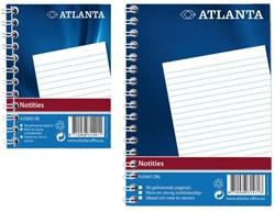 Notitieboek Atlanta 2206026000 A7 103x74mm met zijspiraal