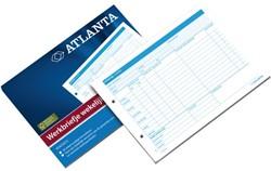 Werkbriefje Atlanta A5425-015 A5 wekelijks 50vel
