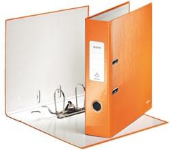 Ordner Leitz WOW A4 80mm karton oranje
