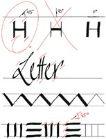 Kalligrafiepen edding 1255 zwart 2.0mm-2