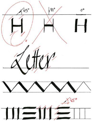 Kalligrafiepen edding 1255 zwart 3.5mm-2