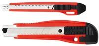 Snijmes Westcott Premium 18mm met metalen geleiding rood-2