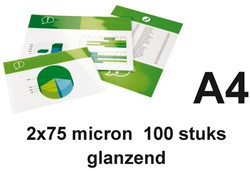 Lamineerhoes GBC A4 2x75micron 100stuks