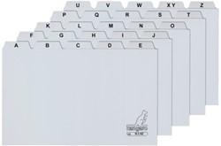 Systeem-tabkaarten Kangaro A6 a-z