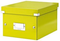Opbergbox Leitz Click & Store 200x148x250mm groen