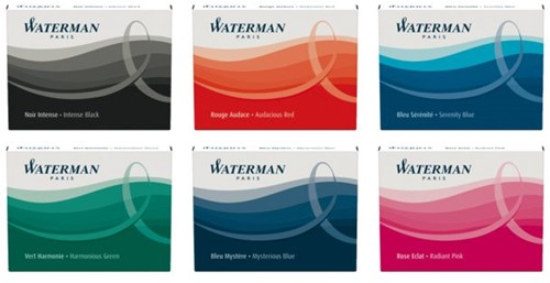 Inktpatroon Waterman internationaal zwart-2