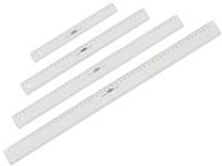 Liniaal M+R 1120 200mm plastic transparant-2