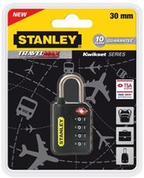 Reisslot Stanley 4 cijferige code 30mm
