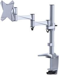 "monitorarm Newstar D1330 10-30"" met klem zilvergrijs"