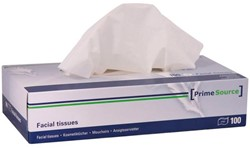 Tissue PrimeSource facial 2-laags 40x100stuks