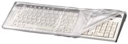 Beschermhoes Hama toetsenbord transparant