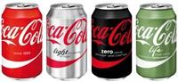 Frisdrank Coca Cola Regular blikje 0.33l-4