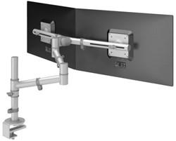 monitorarm Dataflex Viewgo 132 met bureauklem grijs
