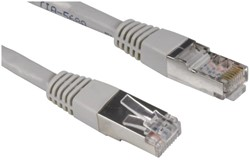 Kabel Hama CAT5e STP 500cm grijs 25 stuks