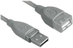 Kabel Hama USB 2.0 Extension 300cm grijs
