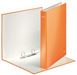Ringband Leitz WOW A4 2-rings D-mech 25mm karton oranje