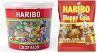Haribo Color-Rado wine gum + engelse drop 650gram-2