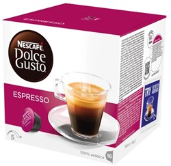 Koffie Dolce Gusto Espresso 16 cups