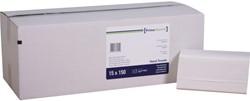 Handdoek PrimeSource Interfold 2laags 21x24cm 2250st.