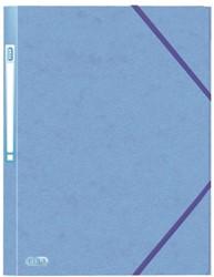 Elastomap Elba A4 met rugetiket blauw