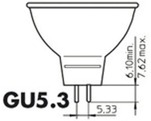 Halogeenlamp Philips Brilliantline GU5.3 50W 775 Lumen-2
