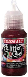 Glittergel Colorall Deco 3D 25gr rood