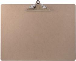 Klembord LPC A3 liggend met 145mm vlinderklem MDF