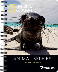 Agenda 2019 teNeues National Geographic Animal 16.5x21.6cm