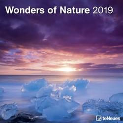 Kalender 2019 teNeues National Geographic wonders of nature 30x30cm