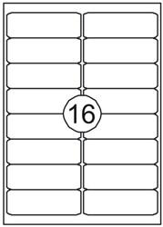 Etiket Quantore 99.1x33.9mm 1600stuks