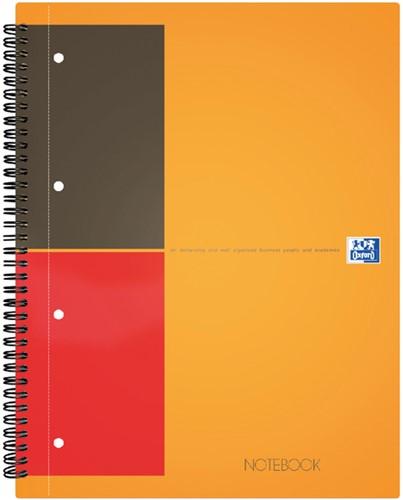Spiraalblok Oxford International Notebook A5+ lijn