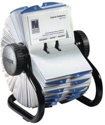 Visitekaartenmolen Rolodex 67236 200 hoesjes zwart