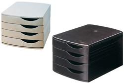 Ladenbox Jalema 4 laden zwart