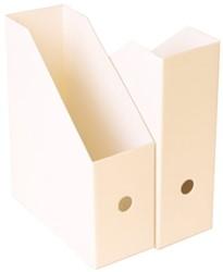 Tijdschriftcassette Nips A4 10.5cm wit