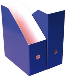 Tijdschriftcassette Nips A4 10.5cm blauw