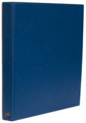 Ringband Multo Hannibal A4 23-rings D-mech 25mm lederlook blauw