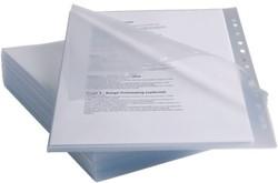 Showtas Rexel anti slip 11-gaats PP 0,13Mm transparant