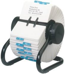 Kaartenmolen Rolodex RL66704 57x102mm 500kaarten zwart