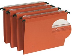 Hangmap Elba DEFI A4 V-bodem karton oranje