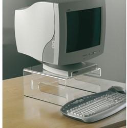 """Monitorstandaard OPUS 2 14-15"""" +toetsenbord transparant"""